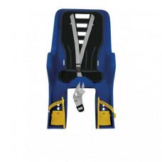 Scaun de copil Dieffe Bikey Carrier montare pe portbagaj albastru