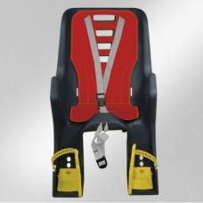 Scaun de copil Dieffe Bikey Carrier montare pe portbagaj antracit
