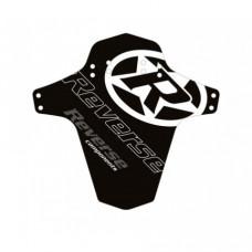 Aparatoare Reverse logo negru/alb