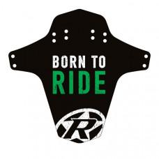 Aparatoare Reverse Born to Ride negru/alb/verde