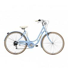 Bicicleta Adriatica Danish Lady 28 Albastru Deschis 480mm