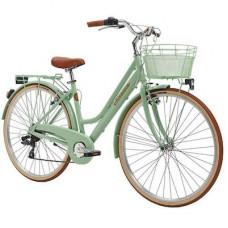Bicicleta Adriatica City Retro Donna 28 verde 45 cm