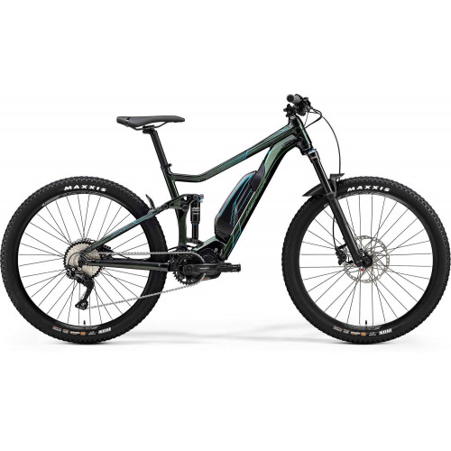 Bicicleta Merida eOne Twenty 500 Verde Metal
