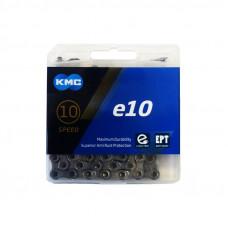 Lant KMC E10 EPT 10 Viteze 136 zale Ebike, Argintiu