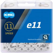 Lant KMC E11 EPT 11 Viteze 122 zale Ebike, Argintiu