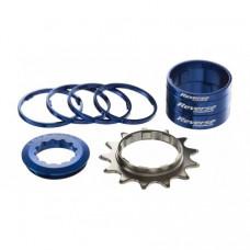Kit single speed Reverse 13T albastru inchis